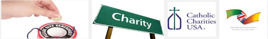 email addresses of charities